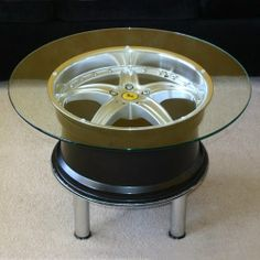 mounted allow wheel table