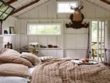 romantic man cave shed