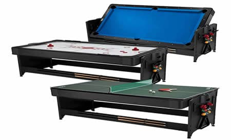 3-in-1 pool table