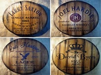 man cave personalized rustic wall decor