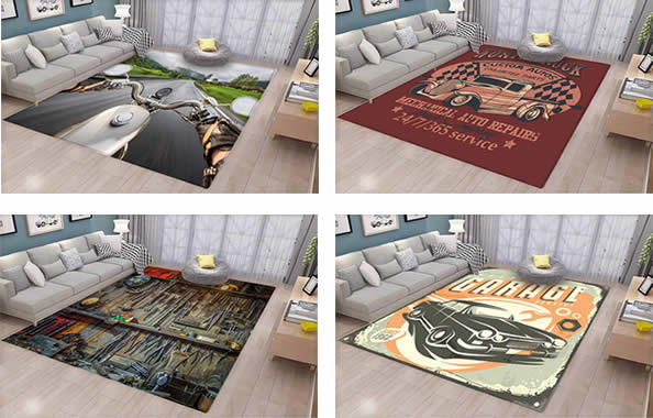man cave rugs