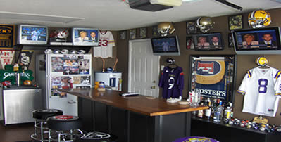 How To Create The Ultimate Sports Man Cave Man Cave Know How