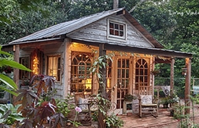 rustic she shed