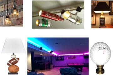 cool man cave lighting