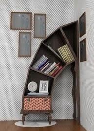 fun book shelves