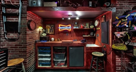 How To Create The Ultimate Garage Man Cave Man Cave Know How