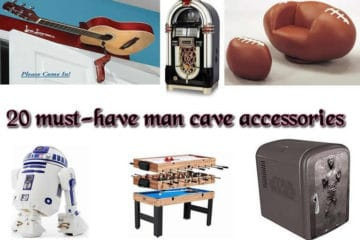 Man cave accessories