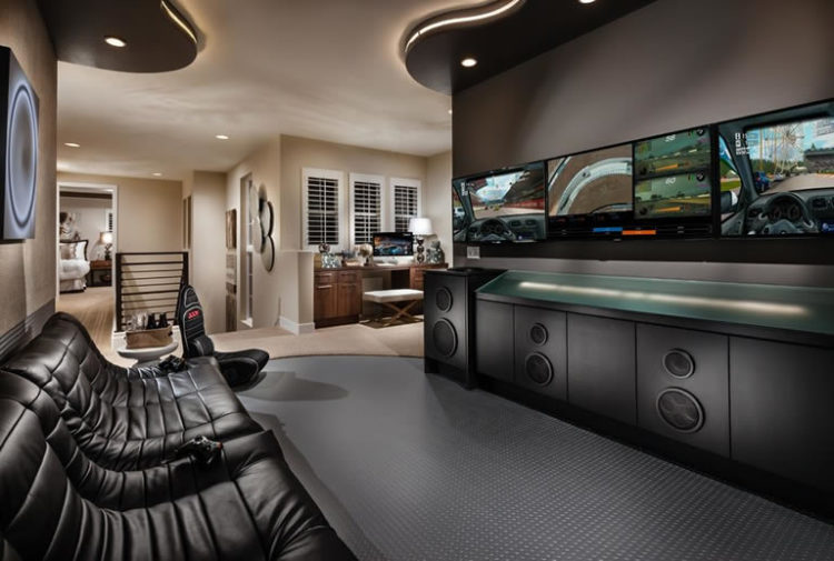 How To Build A Super Modern Man Cave Man Cave Know How