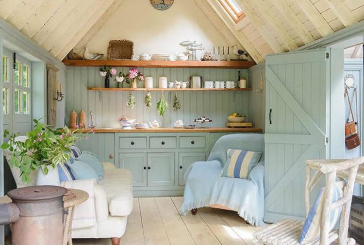 Shed Interior Ideas