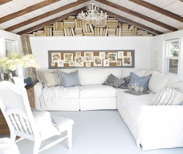 Simple white and airy