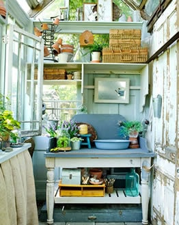 high stacking she shed interior design