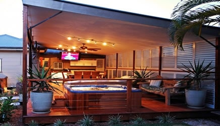 12 Awesome Outdoor Man Cave Ideas - Man Cave Know How on Man Cave Patio Ideas id=23453