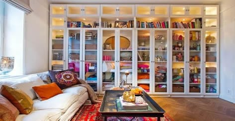 Colorful reading den lady lair
