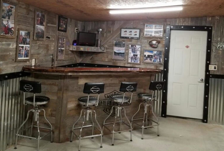 How To Build A Man Cave Bar Man Cave Know How