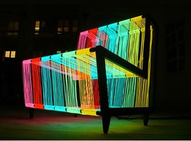The disco chair
