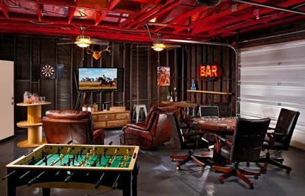 Game room man cave