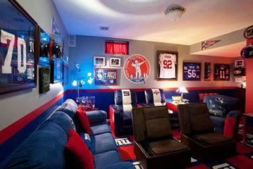 NFL man cave idea