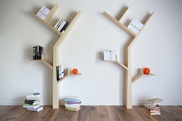 She shed library book tree
